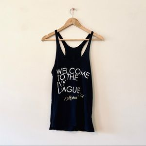 Alpha Phi Welcome to the Ivy League Tank Top